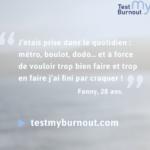 #Testmyburnout : lancement d'une campagne nationale de collecte d'information sur le burnout !